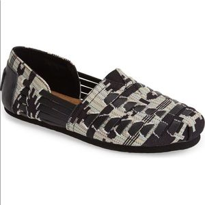 NEW Toms Huarache Black/Multi Shoes